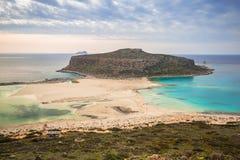 Beautiful Balos beach on Crete Royalty Free Stock Photography