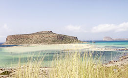 The Beautiful Balos Lagoon Royalty Free Stock Photography