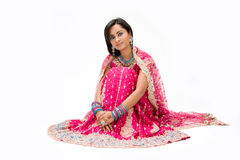 Beautiful Bangali bride  Royalty Free Stock Image