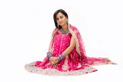 Beautiful Bangali bride royalty free stock image