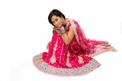 Beautiful Bangali bride  Royalty Free Stock Photography