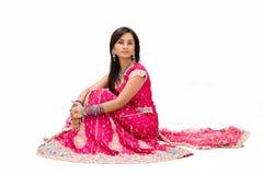 Beautiful Bangali bride royalty free stock images