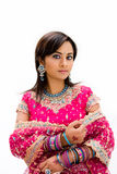 Beautiful Bangali bride royalty free stock photography