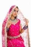 Beautiful Bangali bride Royalty Free Stock Photos