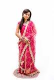 Beautiful Bangali bride stock image