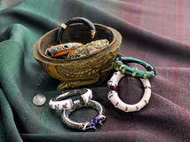 beautiful bangles Royalty Free Stock Images