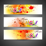 Beautiful banner and header set grunge Royalty Free Stock Photography