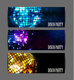 Background disco party Royalty Free Stock Photography