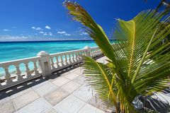 Beautiful Barbados. A beautiful, sunny day on the Caribbean island of Barbados Stock Image