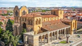 Beautiful Basilica de San Vicente, Avila, Castilla y Leon, Spain Royalty Free Stock Image