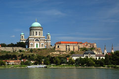 Beautiful basilica Esztergom royalty free stock image