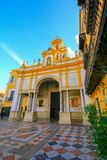 Basilica of La Macarena, Sevilla Spain. Seville Espana stock photos