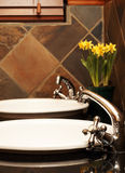 Beautiful bathroom interior Royalty Free Stock Photo