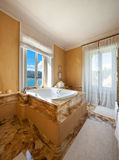 Beautiful bathroom with jacuzzi Royalty Free Stock Photo