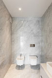 Beautiful bathroom marble Royalty Free Stock Photo