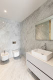 Beautiful bathroom marble Royalty Free Stock Photography