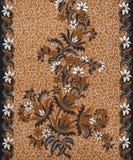 Beautiful Batik Pattern Stock Photography