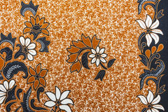 Beautiful Batik Pattern Royalty Free Stock Photo