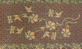 Beautiful Batik Pattern Royalty Free Stock Image