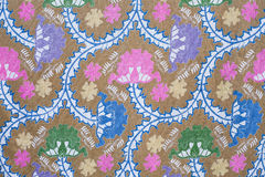 Beautiful batik patterns Royalty Free Stock Image