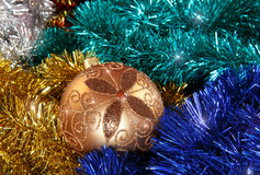 Beautiful bauble Stock Images