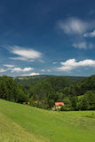 A beautiful bavarian landscape. Royalty Free Stock Images