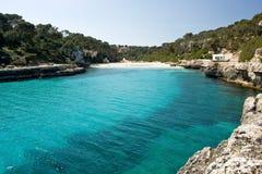 Beautiful bay. On the island Majorca, Spain stock photo