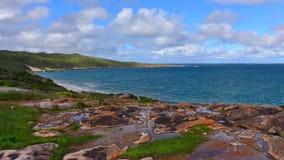 Beautiful bay along the coast of Western Australia Stock Photos