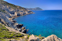 Beautiful bay in Corsica Stock Photography