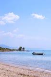 Beautiful bay in Greece Stock Photos