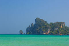 Beautiful bay of Phi Phi island Thailand Royalty Free Stock Photo