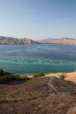 Beautiful Bay in Komodo National Park Stock Image
