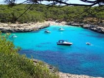 Beautiful bay on Mallorca - Spain Europe royalty free stock photo