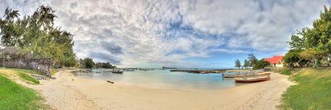 Beautiful bay in Mauritius Stock Photo