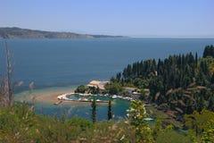 Beautiful bay in Mediterranean sea Stock Photos