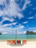 Beautiful bay of Phi Phi island  Thailand Stock Image