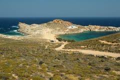 Beautiful Bay In Serifos Island Royalty Free Stock Image