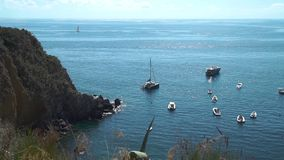 Beautiful bay of Sorgeto with Thermal Springs
