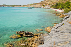 Beautiful bay in Thai Royalty Free Stock Images