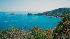 Beautiful bay view from viewpoint Royalty Free Stock Image