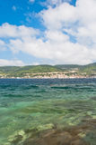 Beautiful bay on Vis Island, Croatia Royalty Free Stock Images