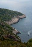 Beautiful bay on Vis Island, Croatia Royalty Free Stock Photo