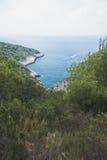 Beautiful bay on Vis Island, Croatia Stock Photography