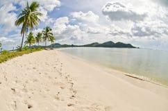 Beautiful beach. Royalty Free Stock Image