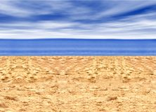 Beautiful beach Royalty Free Stock Images