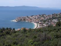 Beautiful beach on the Adriatic coast Royalty Free Stock Photos