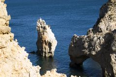 Beautiful beach of Algarve, Stock Photography