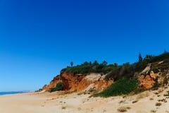 Beautiful beach in Algarve Royalty Free Stock Photos