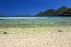 Beautiful beach at Ang Thong National Park Royalty Free Stock Photography