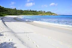 Beautiful beach Anse Cocos Royalty Free Stock Photo